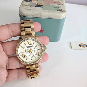 ✨fossil gold watch✨